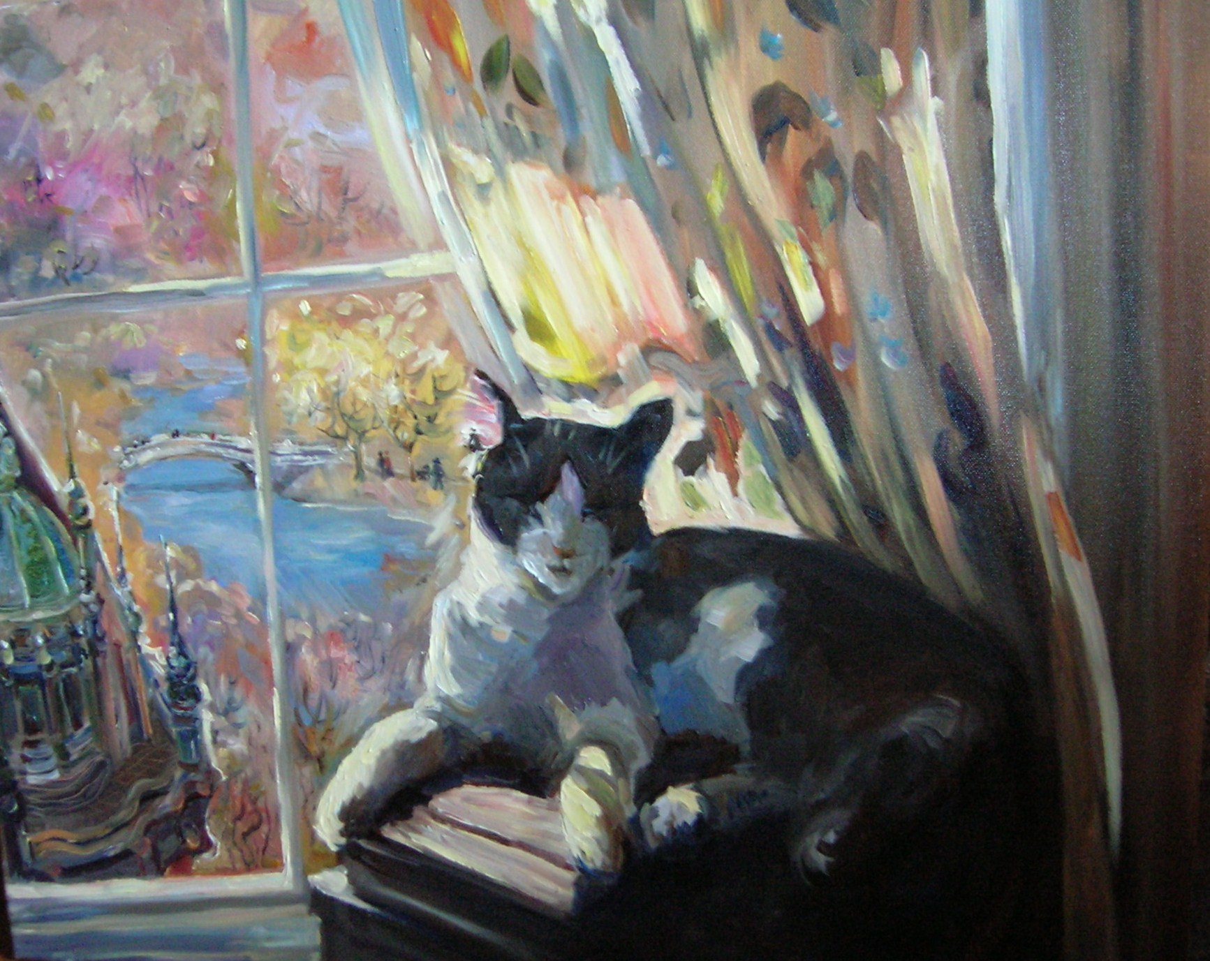 The Cat by Tatiana Rhinevault - Click for Details
